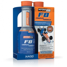 AtomEx F8 مستحضر رفع جودة الوقود - للديزل