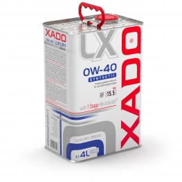 XADO Luxury Drive 0W-40 SYNTHETIC