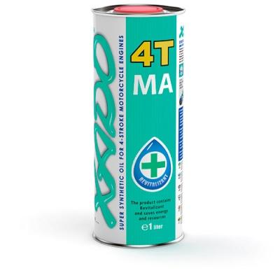 10W-40 4T MA SuperSynthetic زيت XADO الذري