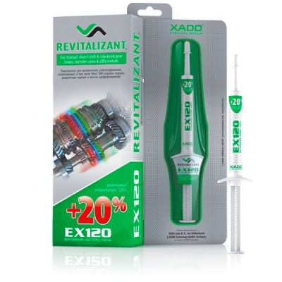 XADO  Revitalizant  EX120 لـــعـــلـــب التروس العادية و الكرونا