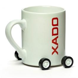 XADO Mug with castors