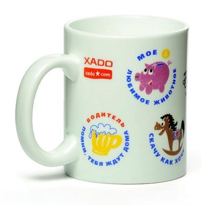"XADO Mug ""Funny Pictures"""