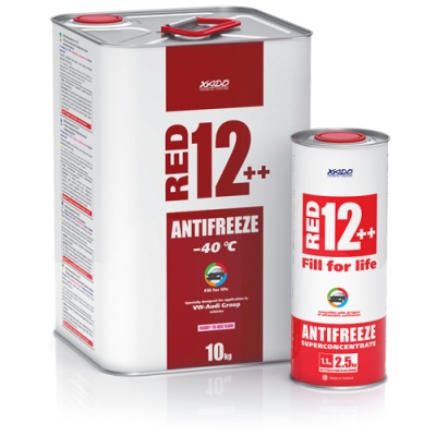 Antifreeze for engine Antifreeze Red 12 ++ -40⁰С
