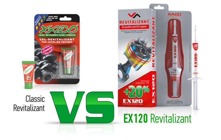 Classic Revitalizant ® or EX120 Revitalizant®